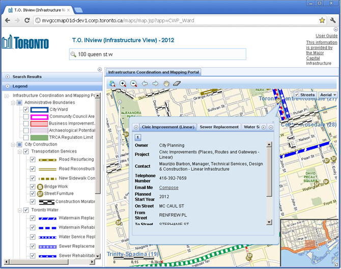 Getting Planned Construction Work Information